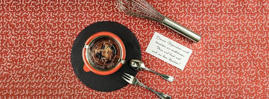 Langlebig, zuverlässig, vielseitig: Mit den Rexgläsern – erhältlich in den Größen von 80 bis 850 Millilitern –  lassen sich Speisen auf eine urbane Weise servieren