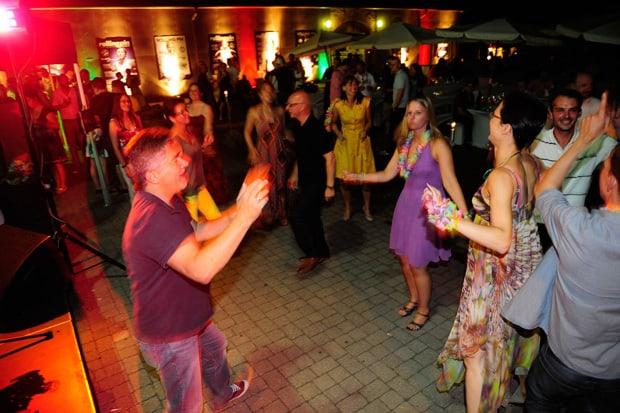 Menschen, die tanzen