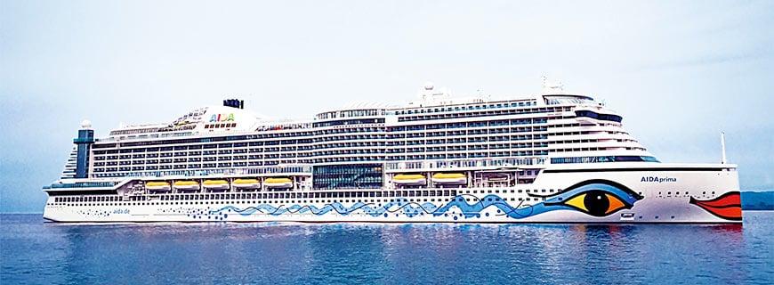 AIDAprima Kreuzfahrtschiff