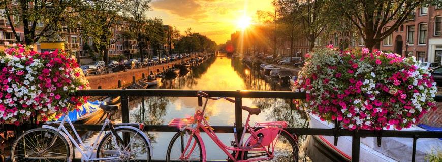 Amsterdam ist ein Touristenmagnet
