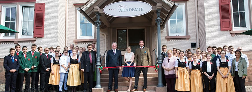 Feierliche Eröffnung der Bareiss Akademie