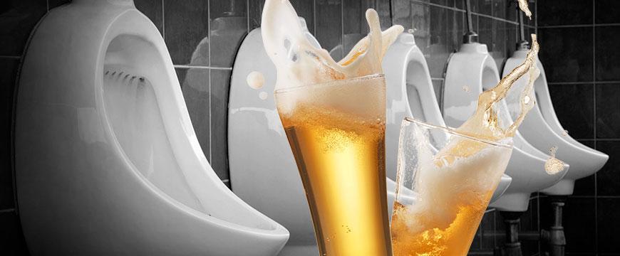 belgische Brauerei will aus Urin Bier brauen