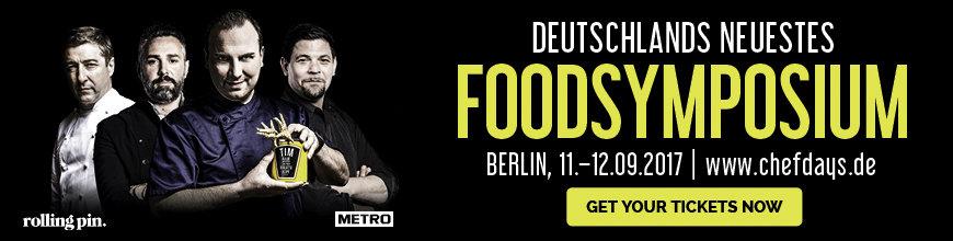 Chefdays Deutschland 2017 Banner