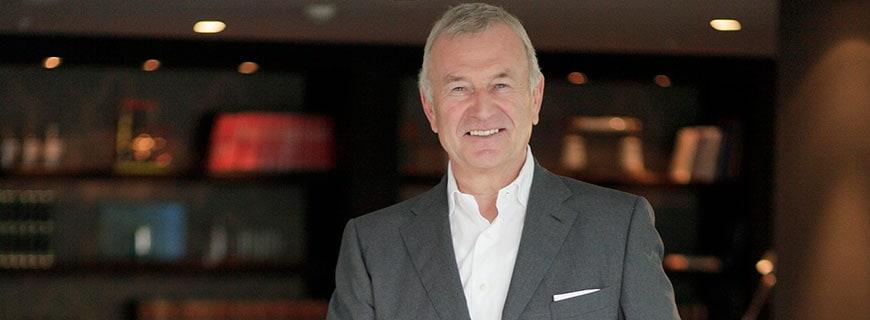 Motel-One-Gründer und CEO Dieter Müller