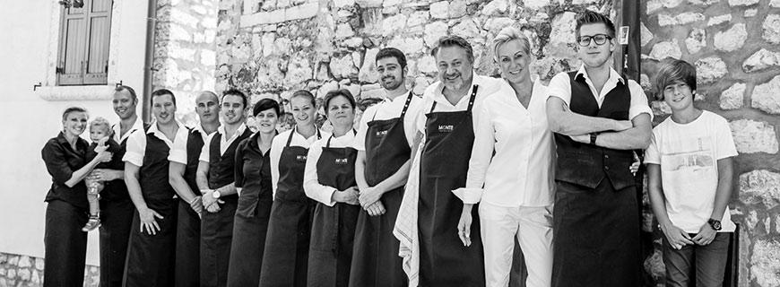 Team von Restaurant Monte