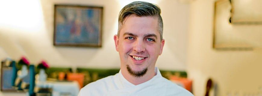 Küchenchef Martin Bednarik