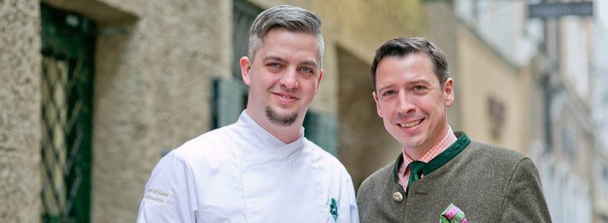 Martin Bednarik und Generaldirektor Wolfgang Putz