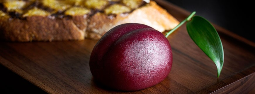 """Plum Meat Fruit"" by Heston Blumenthal"