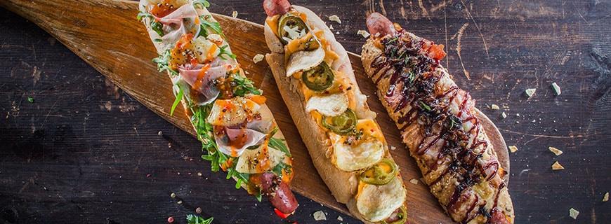 Hotdog Kreationen
