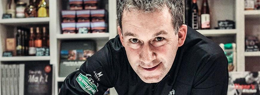 Shane McMahon aus dem Shane's Restaurant in München