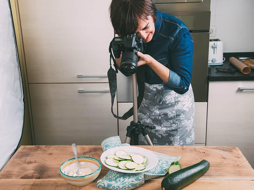 Kochschule lehrt Food Fotografie