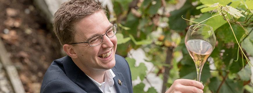 Master Sommelier Alexander Koblinger von Döllerers Weinwerkstatt