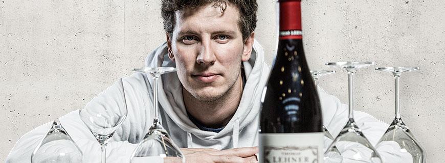 Wein-Posterchild Thomas Lehner