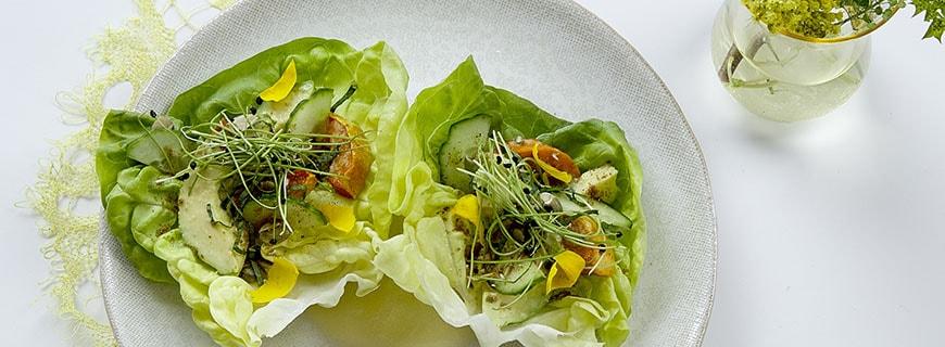 Das V im Restaurantnamen abcV steht für Vegetables (Gemüse)!