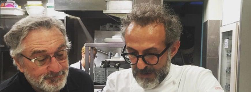 Robert De Niro und Massimo Bottura