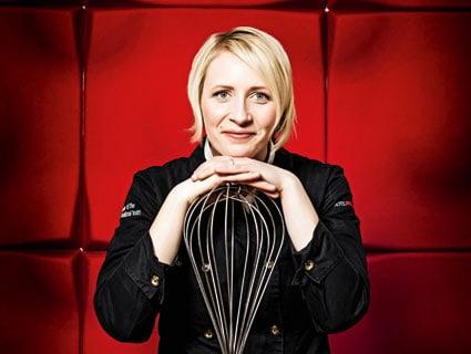 Küchendirektorin Susanne DeOcampo-Herrmann