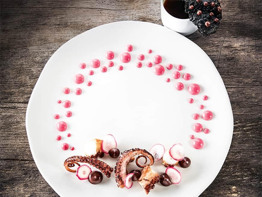Rezept von Virgilio Martínez: Octopus in the desert