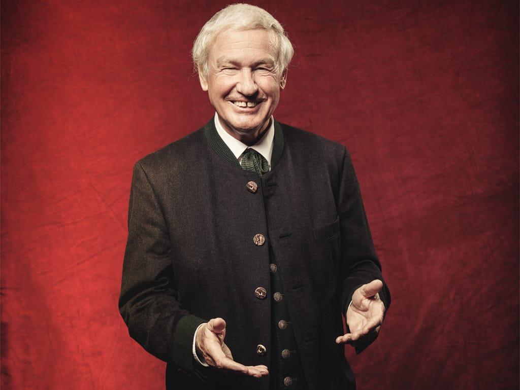 Balthasar Hauser, ausgezeichnet mit dem ROLLING PIN-Award Lebenswerk