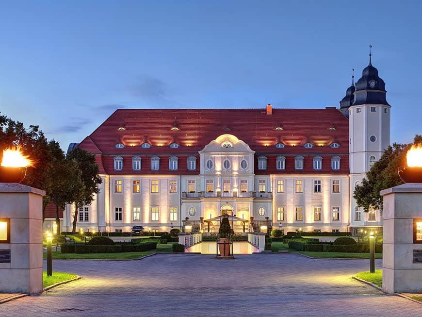 Schloss Hotel Fleesensee im Landkreis Mecklenburgische Seenplatte