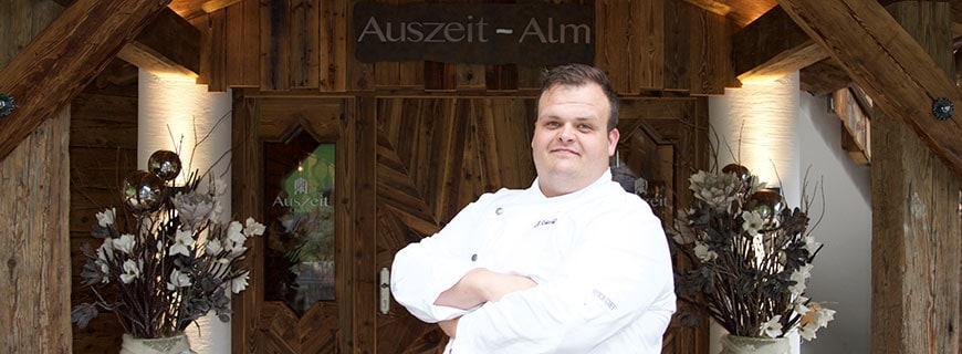 Küchenchef Josef Schiechl