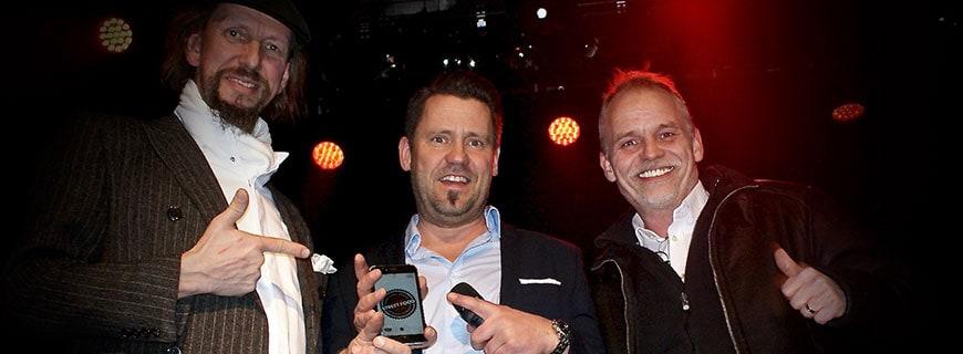 Ulf Tassilo Münch, Mike Süsser und Stephan Diedrich (v. li. n. re.)
