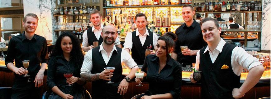Das Team der Bank Bar