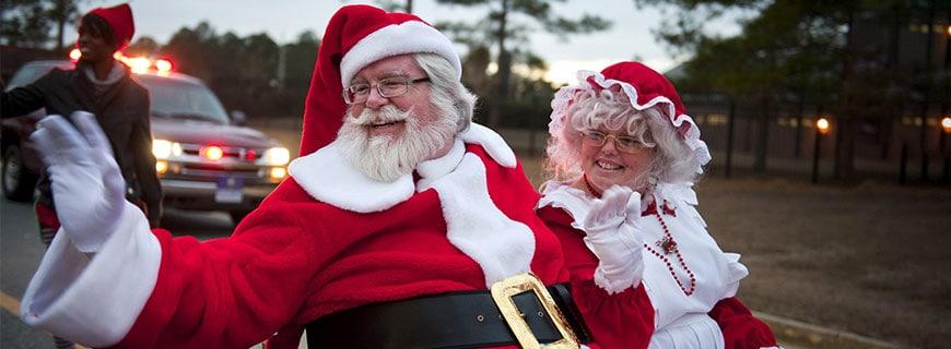 Mr. und Mrs. Santa Claus