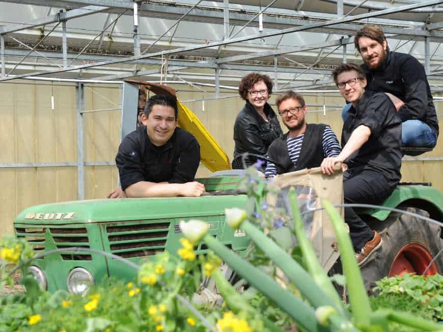 """Mit dem """"The Garden Table"""" zieht das Geisels Werneckhof-Team rund um 2-Sterne-Koch Tohru Nakamura ins Botanikum."""