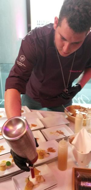 Marco D'Andrea brilliert hingegen wie gewohnt an der Dessert-Front.