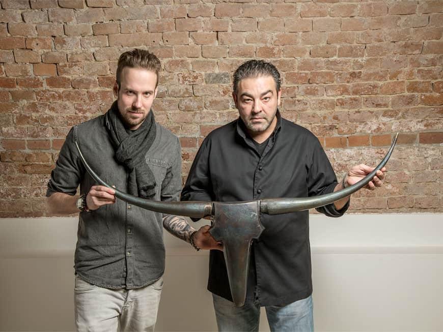 Sören Herzig und Juan Amador