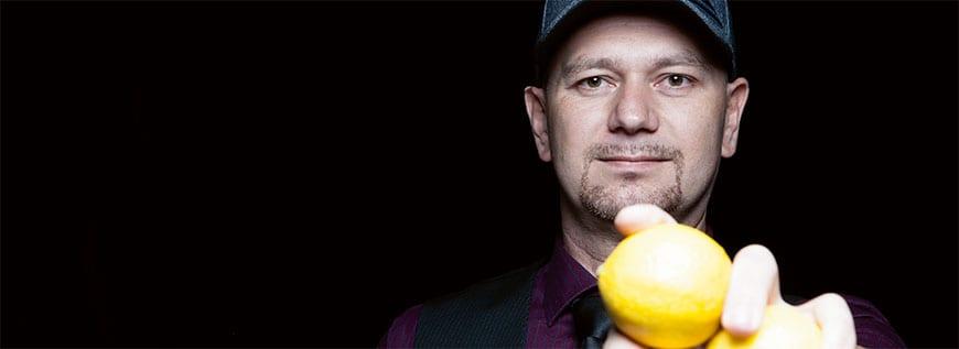 Barkeeper Andreas Trattner