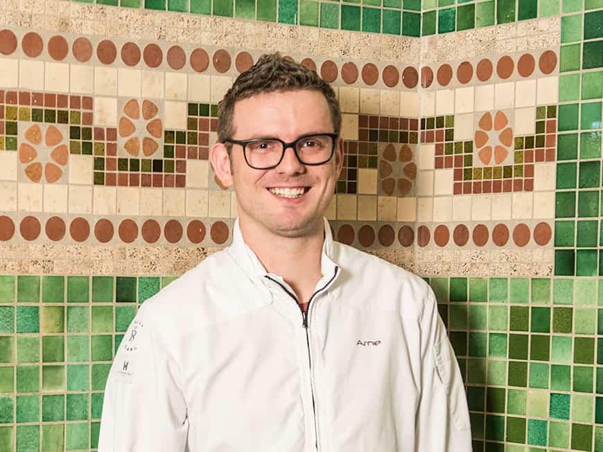 "Nominiert für den Berliner Meisterkoch 2017: Arne Anker, ""Pauly Saal"""