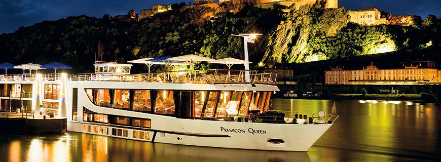 Flusskreuzfahrtschiff Premicon Queen
