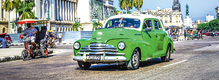 Arbeiten auf Kuba