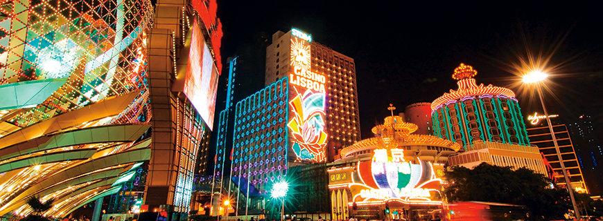 Die Lichtershow in Macau