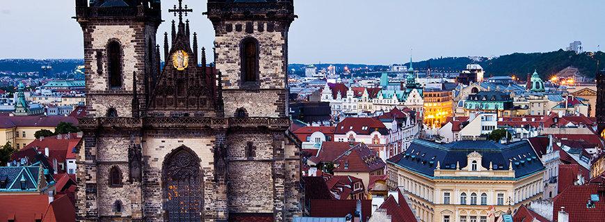 Karriere in Prag- Über den Dächern der Stadt