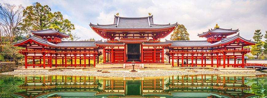 Typisches Bauwerk in Kyoto