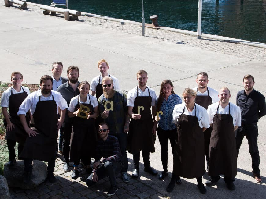 Restaurant Barr Team