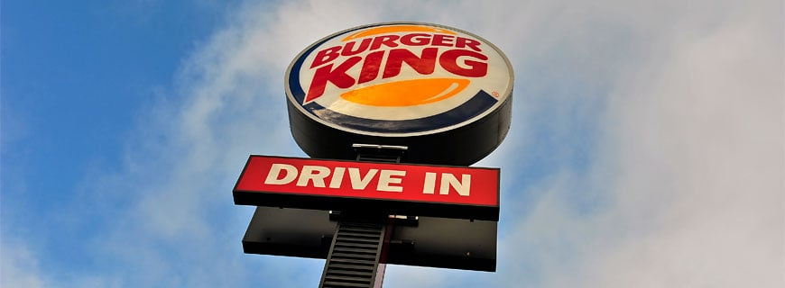 Burger King: Gras vom Drive-in