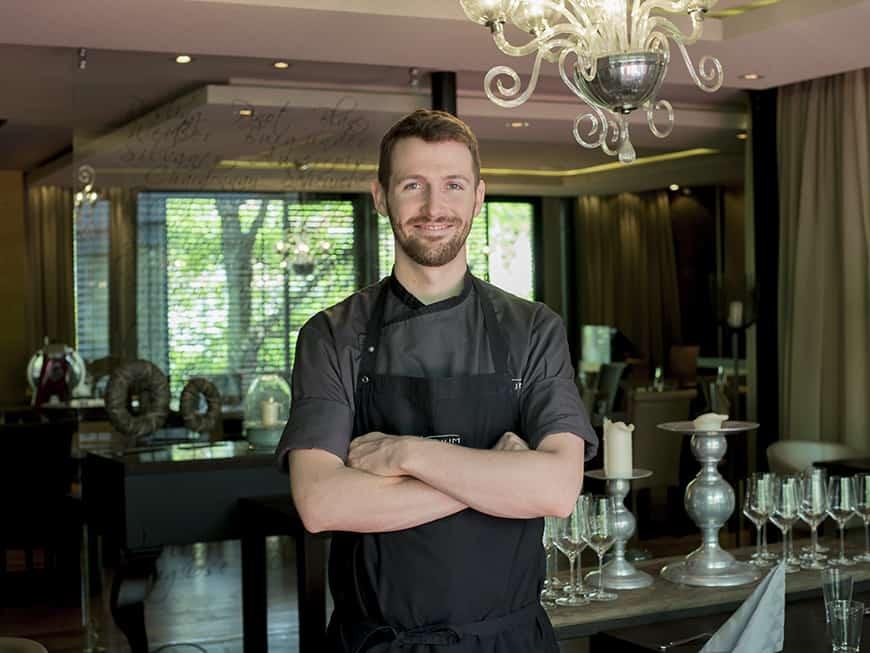 Neuer Küchenchef im Mainzer Atrium Hotel, Carl Grünewald.