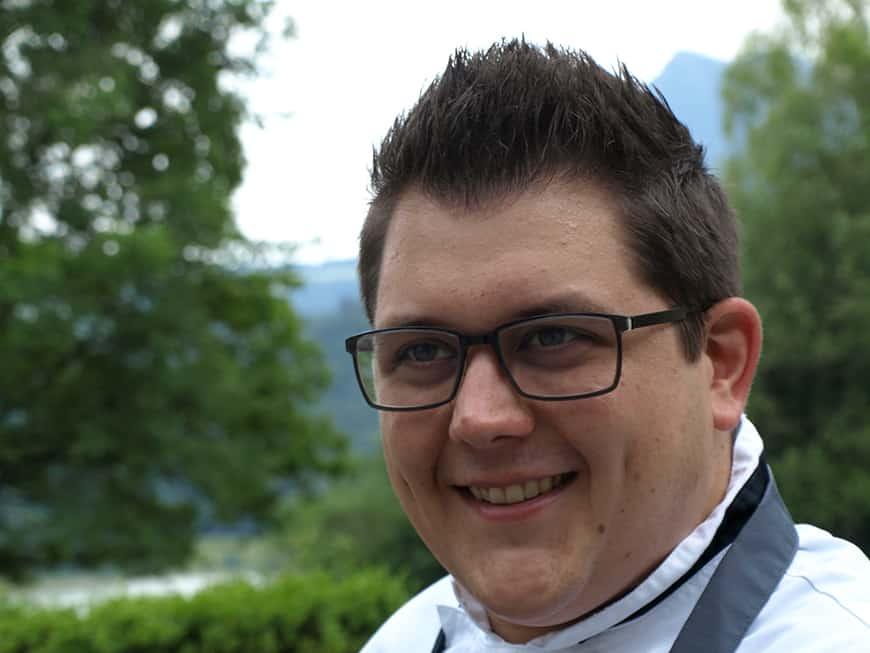 Christoph Lang ist neuer Küchenchef im Restaurant Jagdhof.