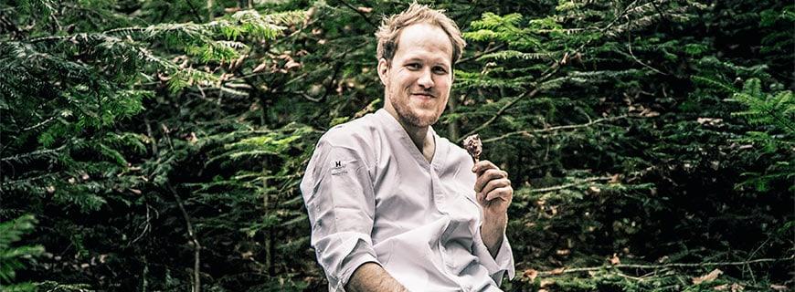 Tobias Wussler im Schwarzwald