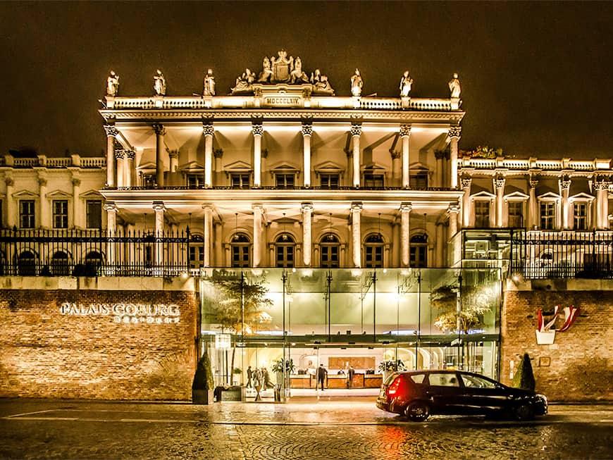 Das Palais Coburg in Wien