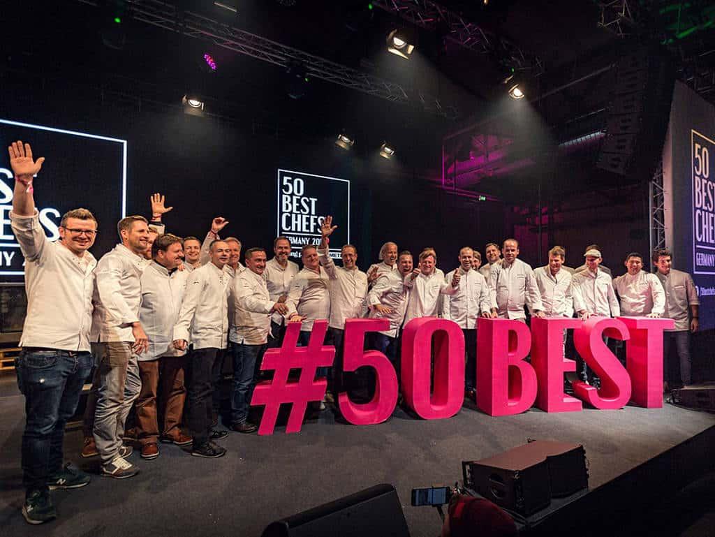 Die 50 besten Köche Deutschlands 2018 auf der Bühne