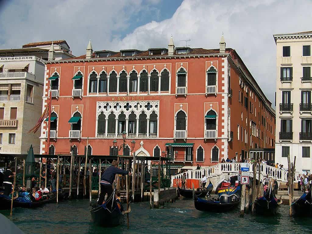 Hotel Danieli in Venedig.