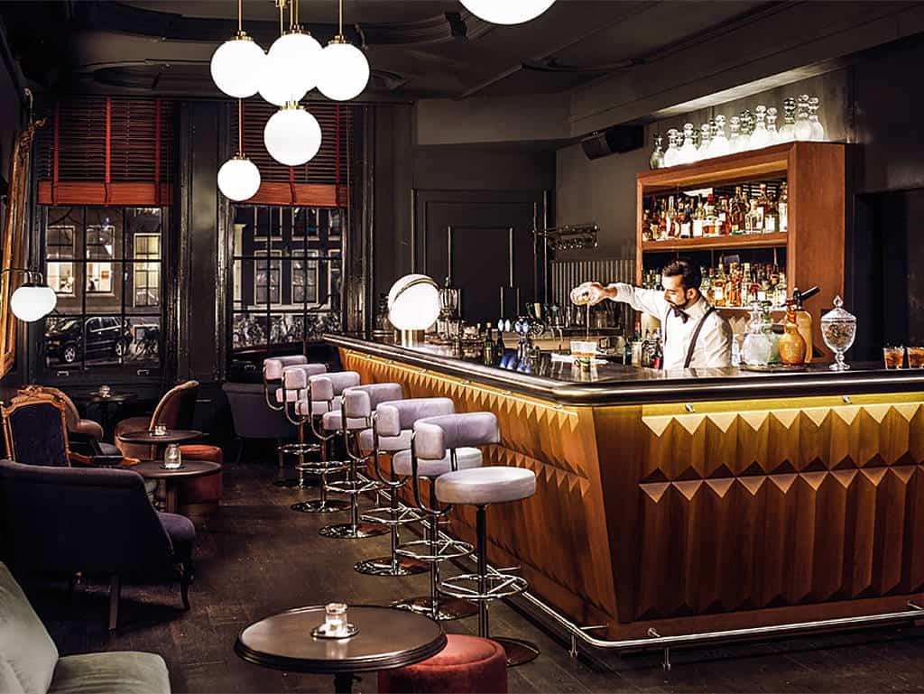 Die Pulitzer-Bar im Art-Deco-Stil