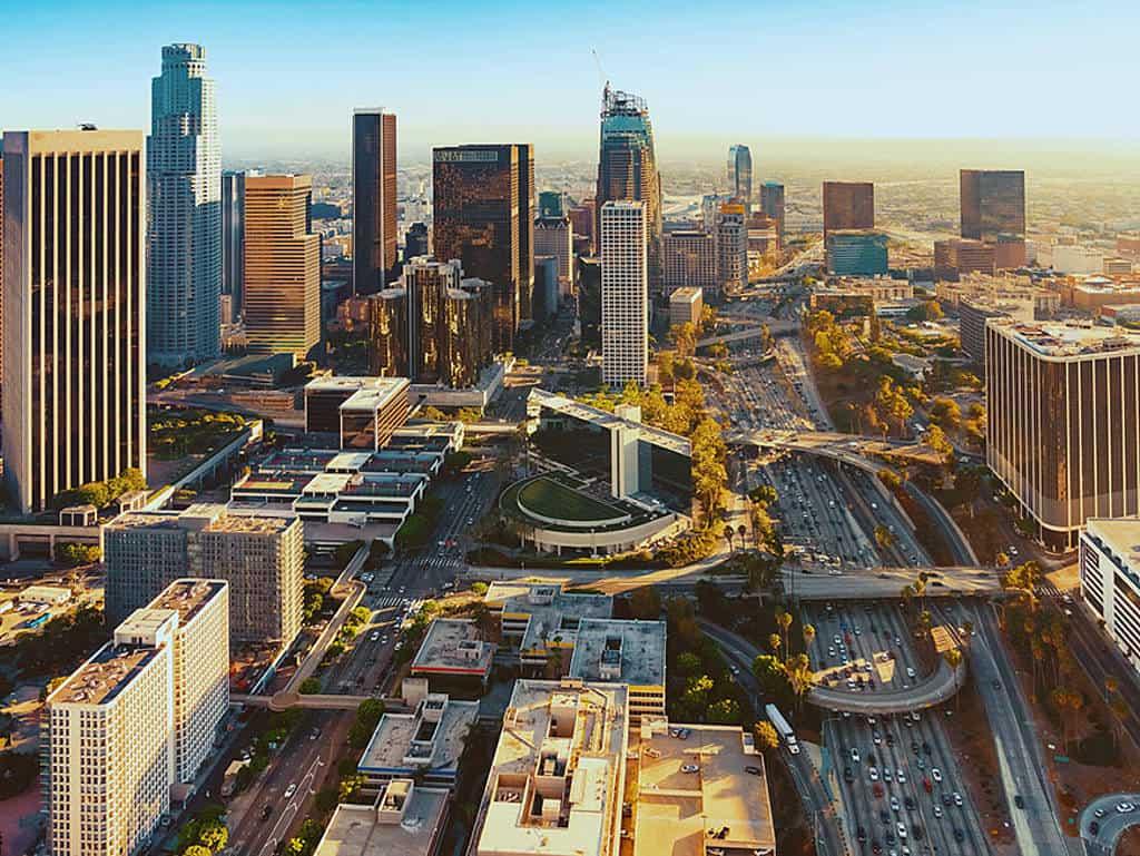 L.A. von oben