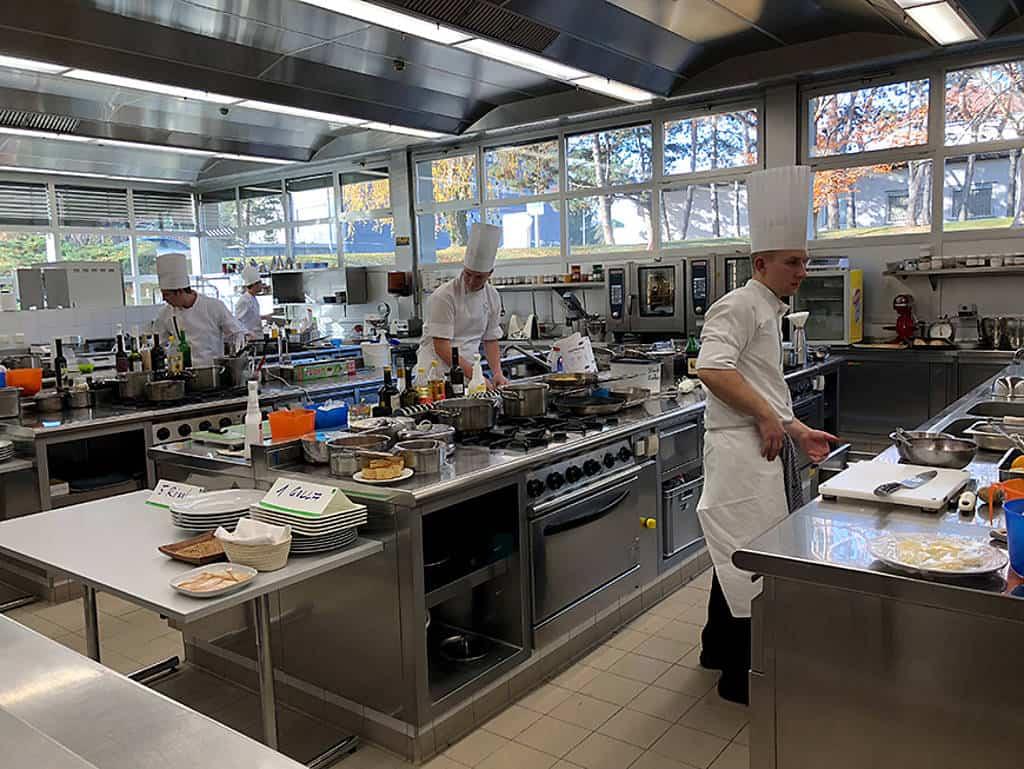 Bei der Küchenmeister-Prüfung am WIFI live dabei!