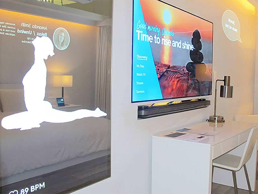 Vision für das Hotelzimmer der Zukunft