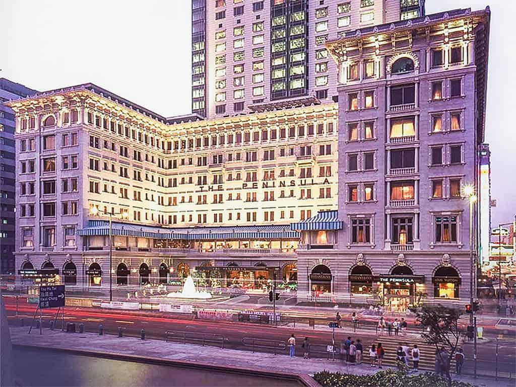 Peninsula Hotels, Hongkong